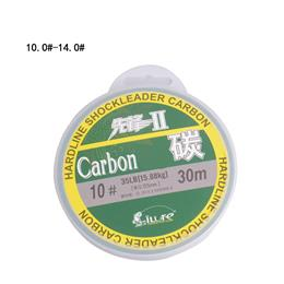 Leada 100% Carbon Fiber Fluor Fishing Lines 10.0 12.0 14.0