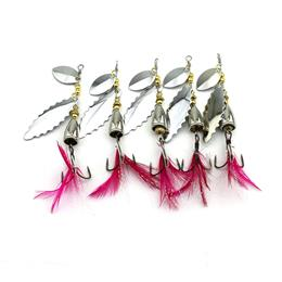 5pcs 9cm 10.5g Spinner Spoon Lures Isca Artificial Fishing Lure