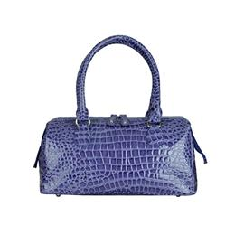 Fashion Women hard framed bag croco pattern