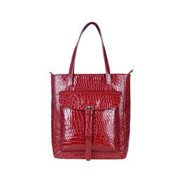New 2018 Women handbag Croco Pattern Tote