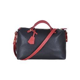 classical black and red hobo women shoulder bag lady handbag