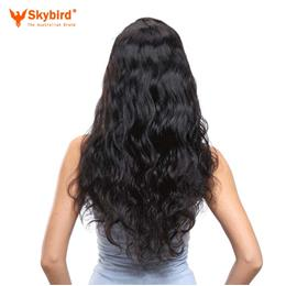 22 inches Skybird Hair Young Girl Brazilian Body Wave Hair Extensions 100% Human Hair Weave Virgin Hair