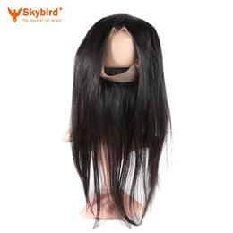 12 inches Hair Pre Plucked 360 Lace Frontal Closure With Baby Hair 100% ...