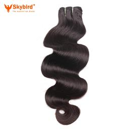 18 inches Skybird Hair Young Girl Brazilian Body Wave Hair Extensions 100% Human Hair Weave Virgin Hair