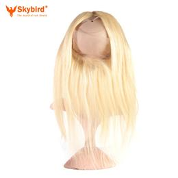 20 inches Skybird Hair Products Straight Virgin Hair 613 Pre-Plucked 360 Lace Frontal Closure With Adjustment
