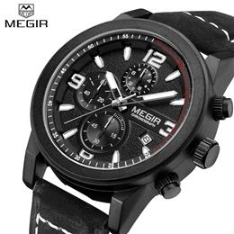 Luxury Sports Men Quartz Watches Military Wristwatch Men Genuine Watch Chronogragph Luminous