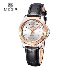 MEGIR Original Dress Watch Women Luxury Ladies Watches Genuine Wristwatch for Couple