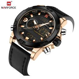 Men Sport Watches Men's Quartz LED Analog Clock Man Military Waterpr...