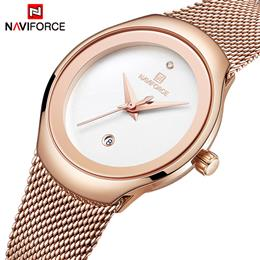 NAVIFORCE Watch Women Fashion Dress Quartz Watches