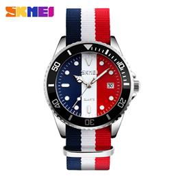 Famous Brand Watches Men Luxury Brand Male Clock Quartz Watch Fashion Casual Multicolor Stripe Wristwatches