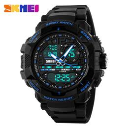 Large Design Sport Watch Men Digital LED Chronograph Back Light Wristwat...