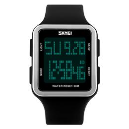 SKMEI Digital Wristwatches Women Students LED Watch Waterproof Sports Wa...