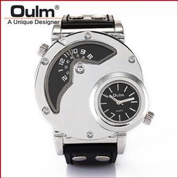 Luxury Watches Men Brand Oulm 9591 Japan Movement Military Army Wristwatches