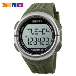 SKMEI Heart Rate Digital Wristwatches Men Fashion Alarm Clock Military W...