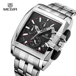 Luxury Men Watch Full Steel Band Date Mens Quartz Watches Business Big Dial Watch