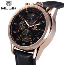 Male Quartz Watch Man Military Chronograph Wrist Watches Business Men Army Watch