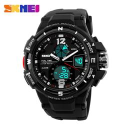 SKMEI Brand Digital Watch Men Outdoor Sports Watches Dual Display Wristwatches