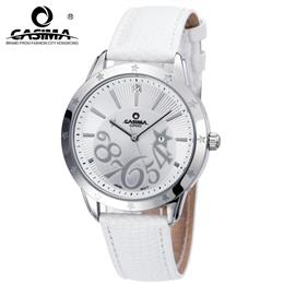 CASIMA Watches Women Stainless Steel Quartz-Watch Digital Casual Fashion Waterproof 50m Ladies Wristwatch