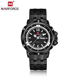 Men Watch Men's Sports Military Full steel Waterproof Quartz Wrist w...