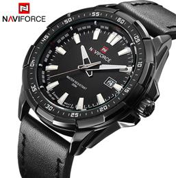 Men Quartz Watches Hour Date Leather Clock Man Sports Army Military Wris...