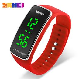 Sports Watches Women Fashion Casual LED Digital Wristwatches Silicon Strap 50M waterproof