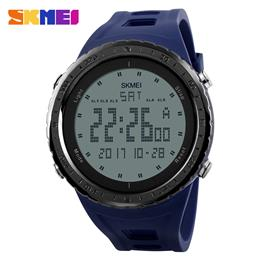 SKMEI 1246 Men Sports Watches Countdown Chrono Double Time EL Light Digital Wristwatches