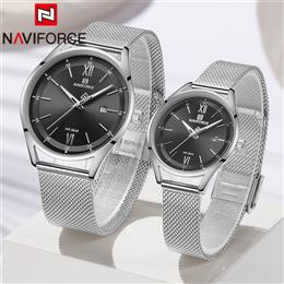 NAVIFORCE Men Watch Couple Wristwatch Top Brand Luxury Waterproof Man Wa...