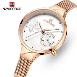 NAVIFORCE Women Watches Luxury Brand Fashion Quartz Watch