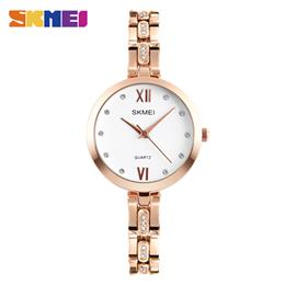 SKMEI Fashion Quartz Watches Women Luxury Watch Dress Wristwatches