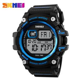 SKMEI Men Digital Watches Big Dial Multifunction Outdoor Sport Watch Shock Wristwatches