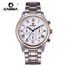 CASIMA 2016 Fashion Charm Men's Dress Leisure Quartz Wrist Watch Waterproof Luxury Brand Watches Men