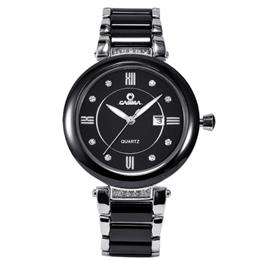 CASIMA Luxury Brand Watches Women Fashion Elegance Casual Ceramic Table Quartz Wrist Watch Waterproof Relogio Feminino