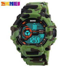 Men watch Camouflage Watches Digital Clock Fashion Silicone belts Watch