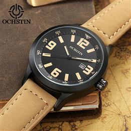 Top Brand Watches Men Quartz Wrist Watch Genuine Leather Waterproof Men&...