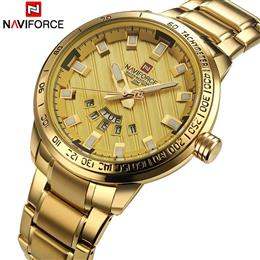 Men Watches Men's Full Steel Leisure business Waterproof Quartz Clock Men Wrist watch