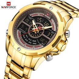 NAVIFORCE Sport Men Watches Fashion Digital Quartz Wrist Watch