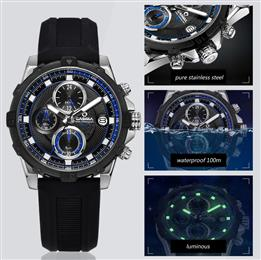 CASIMA Fashion Luxury Brand Watches Men Casual Charm Luminous Sport Multi-Function Mens Quartz Wrist Watch Waterproof 100m