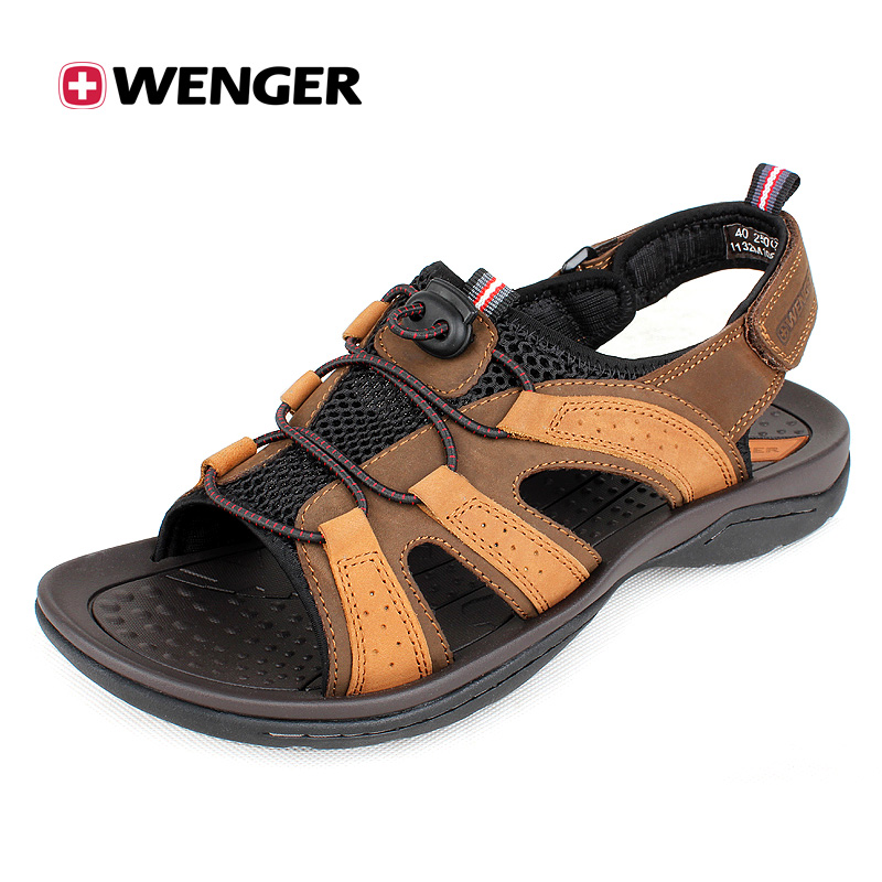 Men's Full Leather Sandals 1132M10800122