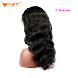 Skybird 18-20 inches Brazilian Full Lace Human Hair Wigs For Women With ...
