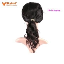 Skybird 14-16 inches Hair Brazilian Body Wave Pre Plucked 360 Lace Fron...