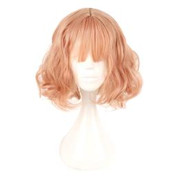 Japan and South Korea Wig Air Bang Paragraph With Daily Harajuku Pink Gold Cosplay Wig