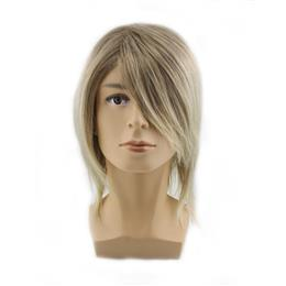 mens blonde wig male handsome wigs synthetic hair heat resistant men sho...