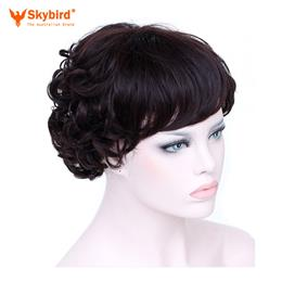 Skybird hari Natural Curly Synthetic Hair For  Women Heat Resistant Fema...