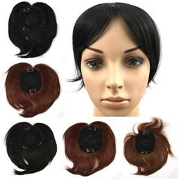 4 Colors High Temperature Fiber Synthetic Hair Toupees Hairpieces Straig...
