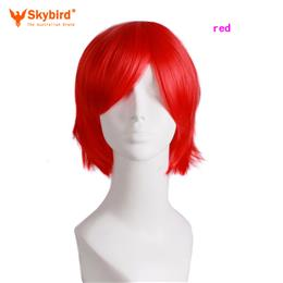 Skybird Short Straight 30CM Cosplay Wigs Heat Resistant Synthetic Hair