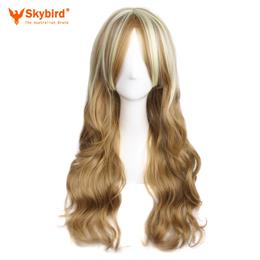 Skybird Long Loose Wave Cosplay Wigs Costume Womens Party  70CM Heat Resistant Ladies Synthetic Hair