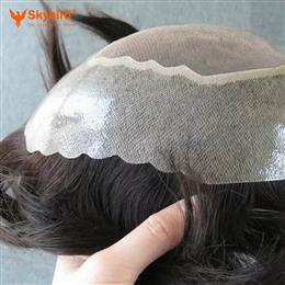 Skybird Human hair toupee Apollo , prosthesis , hair piece hair replacement free shipping