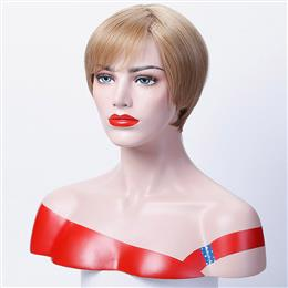 12 inch Straight Short Wigs Synthetic Hair for Woman Cospaly Wig
