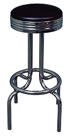 Happy Days Bar Stool with Faux Leather