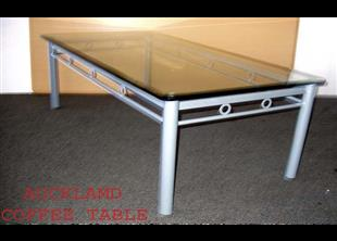 Auckland Coffee Table with Glass Top